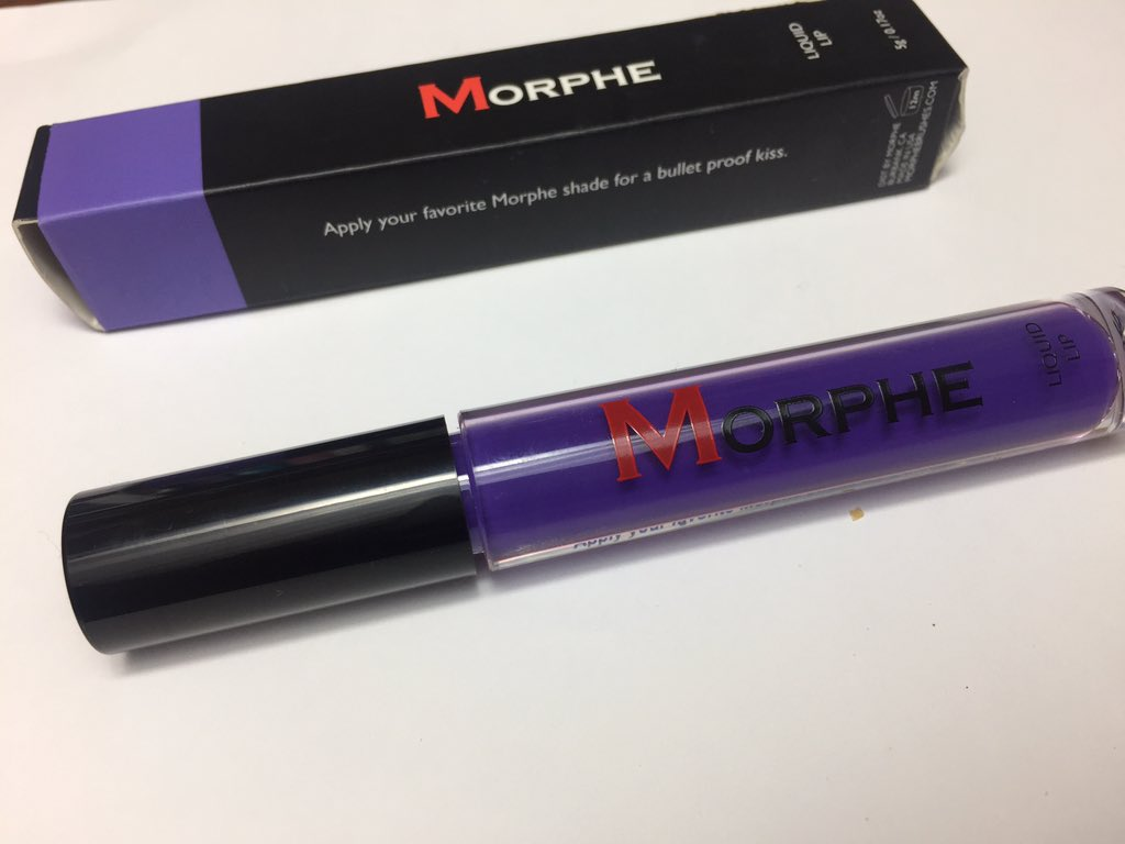 Morphe Liquid Lipstick In Juju Review And Swatches